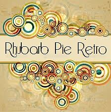 Rhubarb Pie Retro