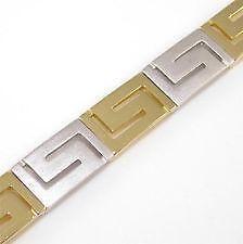 Gold Greek Key Bracelet