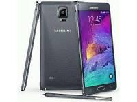 Samsung Galaxy Note 4 Black (Unlocked) in good condition