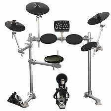 Electronic drum kit and speaker