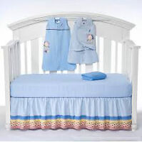 HALO SleepSack 5-Piece Bumper-Free Crib Set, NITB