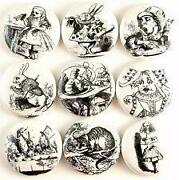 Alice in Wonderland Buttons