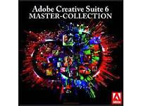 Adobe Master Collection CS6 WINDOWS/MAC