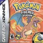 Gameboy Advance SP Pokemon Fire Red