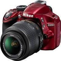 Nikon D3200 24MP avec VR18-55mm VOIR AUSSI AUTRE ANNONCES