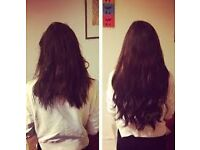Hair extension specialist ! uses REME Glamorous lengths hair free consultation and colour match