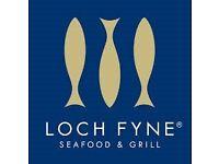 Chef De Partie wanted at Loch fyne !