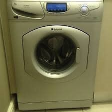 Hotpoint WF865 6kg 1600 Spin Silver LCD Super Silent Washing Machine 1 YEAR GUARANTEE FREE FITTING