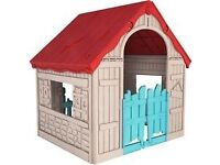 Kids Foldable Playhouse (BNIB)