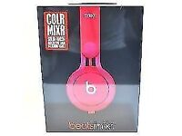 BEATS COLOUR MIXR - NEW AND SEALED - SOLID PINK FINISH - £99