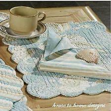 Shell Placemats Ebay