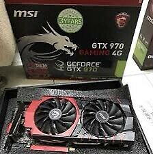 MSI GTX 970 Gaming - 4Gb GDDR5 - Like new, perfect condition