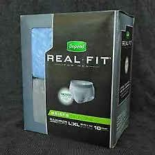 Couche Depend Real Fit  Grandeur L-XL