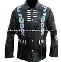 Hand bead work person needed for my leather jacket.