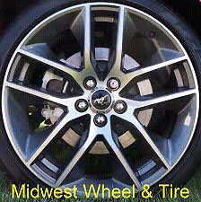 "20"" Mustang rims with Pirelli p zero tires"