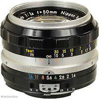 Nikon Nikkor 50mm 1.8 (can include EOS adaptor if req.)