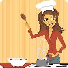 Need Indian Lady Cook to make Food at my House
