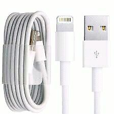 Data cable of Iphone 5, 5c, 5s, 6, 6s plus, all ipad and  ipods.