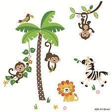 Jungle Wall Decals EBay - Jungle theme wall decals