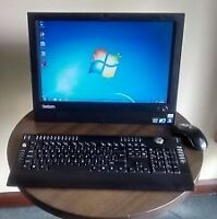 Lenovo All In One Desktop Computer  Like New !!