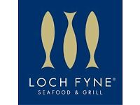 Full Time / Part time Supervisor - Loch Fyne Kenilworth