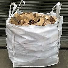Firewood - Bulk (1m3) Bags of 2 year seasoned split firewood