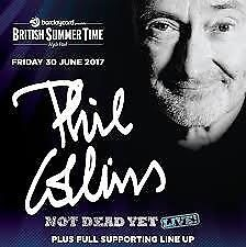 2 x GA (General Admission), Phil Collins, Hyde Park, 30 June