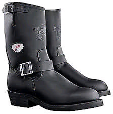 Excellent almost NEW RedWing 968 Motorcycle Boots USA MADE SZ9