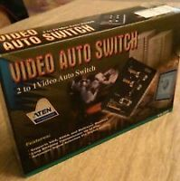 ATEN VanCryst 2-Port Video Switch-Used but STILL IN BOX! $75 OBO