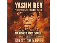 2 x Mos Def LAST EVER GIG Yasiin Bey - Mon 24th Kentish Town o2 Forum