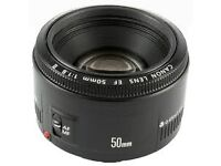 Cheap Nifty fifty' 50 mm lens, for DSLR
