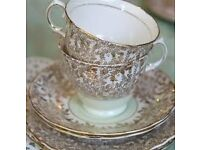 Vintage china available to hire for your celebration event. Delivery and collection is included