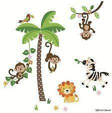 Jungle Tree Wall Decals