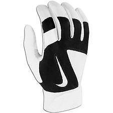 nike batting gloves black
