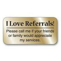 THANKS FOR THE REFERRAL!