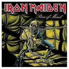 IRON MAIDEN Piece Of Mind CD Enhanced BRAND NEW