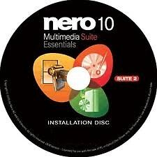 Nero 10 Multimedia Suite Essentials - Suite 2 Burning Software