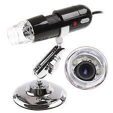 800X 8LED USB Digital Microscope Endoscope Magnifier - Windows 8
