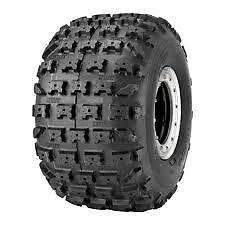 DWT-NEW-MX-RV4-Rear-8-034-ATV-Tire-18-10-8-18x10x8-4Ply-4-Ply-Super-Soft-Red