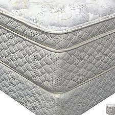 "Luxury Hotel Grade 4"" Pillow Top Queen Size Matt/Box No Tax Kitchener / Waterloo Kitchener Area image 3"