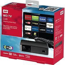 Western Digital WD TV Live Streaming Media Player Full HD HDMI WiFi 2 x USB New