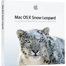 OVP Mac OS X 10.6.3 Snow Leopard Retail-Vollversion *für alle MAC mit INTEL-CPU*