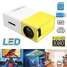 Projecteur Intelligent LED GUARANTIE 6 MOIS smart projector home theater cinéma-maison