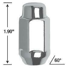 New, Gorilla Automotive® 91107XLHTB Lug Nuts