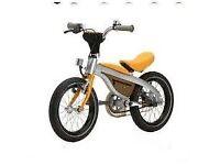 BMW original Junior Kids' Bike (orange-silver)