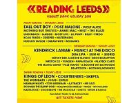 Reading Festival 2018 FULL WEEKEND with camping