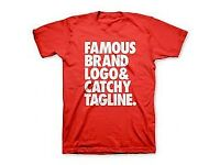 PLAIN T-SHIRT CUSTOMIZE FOR ALL OCCASION ASAP