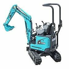 1 Tonne Mini Excavator Rental - Delivery available to your door Emerald Cardinia Area Preview