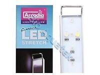 Arcadia LED Stretch Aquarium Fish Tank Light - Marine CS120M 52w 120cm - 150cm