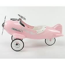 AMERICAN TIN Airflow collectible pink fantasy flyer pedal plane